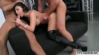 Aletta Ocean Enjoys Deep Double Penetration