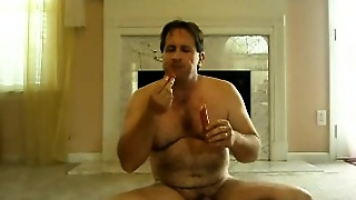Tom Pearl Eats A Hotdog Out Of His Ass