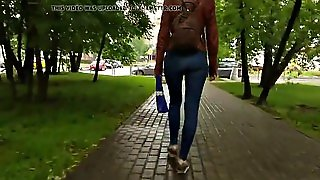 Russian Ass In The Park