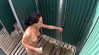 Pretty Czech Girl In The Shower