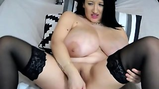 Hot Milf With Big Boobs Teasing