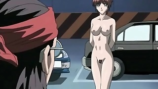 Parking Lot Sex With Hentai Cunt Taking Dick