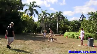 Amateur College Teens Humiliated Outdoors