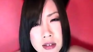 Dirty Japanese Whore Pissing Into A Bowl