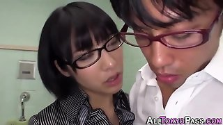 Asian Babe Gets Facials