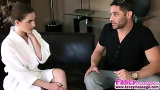 Brunette And Hot Molly Jane Gets Her Pussy Fucked By Damon Dice