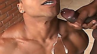 Muscled Gay Guys Fucking In The Forest