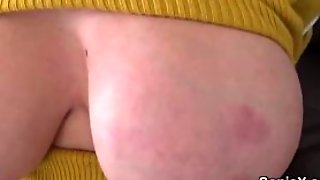 Cheating English Milf Lady Sonia Exposes Her Enormous N