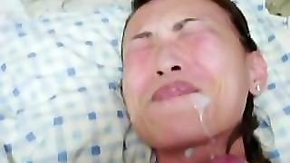Hot Amateur Cum On Her Face