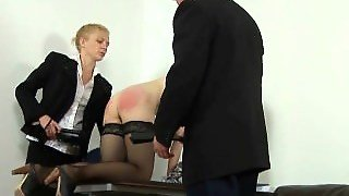 Spanked By Rude Boss