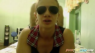 Couple, Webcam, Bra, Doggystyle, Glasses, Blondes, Hd