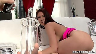 Tiffany Is Gonna Get Her Sweet Ass Packed Full Of Different Stuff, Including A Dildo And Even An Ass Pump!