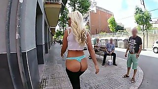 Big Booty Blondie Fesser Bringing Chaos To A Small Town