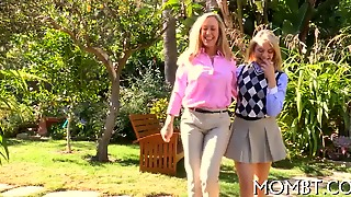 Horny Mum Joins In The Fun