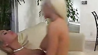 Pussy Slobbering Lesbian Blondes