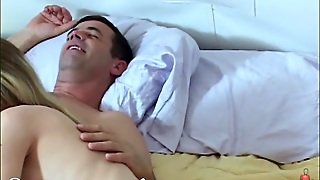 Old Man's Thick Cock Too Big For Tiny Teenager