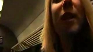 German Amateur Ass Fucked In A Train