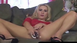 Cock Addict Rebecca Steele Gets Banged Dp Style
