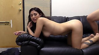 Young Brunette Has Anal Sex With Agent At Casting