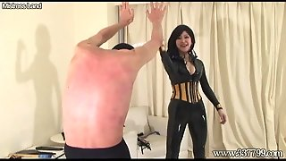 Japanese Femdom Whipping And Fingering Butt Hole