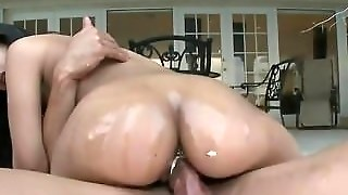 Sexy And Round Asses Get Slammed