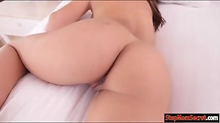 Sexy Stepmom Mia Ryder Threesome Session In The Bedroom