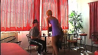 Slutty Anal Gapers Service Their Mistress In A Lesbian Threesome