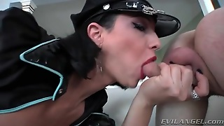 Dominant Tgirl Facesitting With Submissive Guy