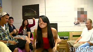 Racy Orgy Party Teen