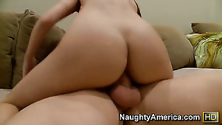 Justice Young Is One Hard-Dicked Stud Who Loves Screwing Amy Ried With Huge Tits And Shaved Muff
