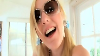 Mouth Creampie For Cute Teen