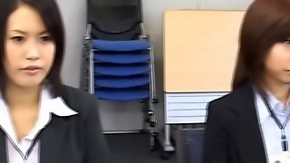 Gang Bang Asian Porn In The Office
