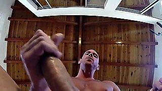Gay, Yoga, Handjob, Big Cock, Hd