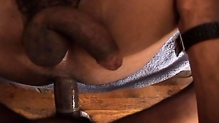 Long Black Cock In The Ass