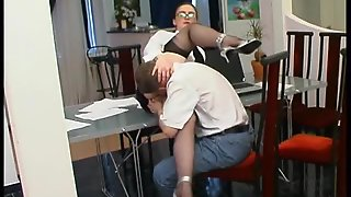 Hardcore, Milf, Russian, Lingerie, Mature, Brunette, Martha, Mature Russian Sex Client, Office