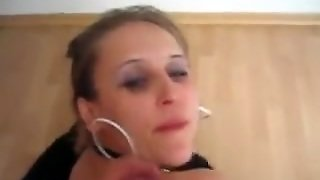 Nympho Blond Wife Tries Anal Sex And Cum Discharged 1St Time