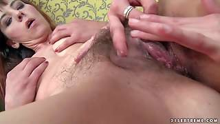 Gina Red Is A Horny Lesbian Mature Woman With Hairy