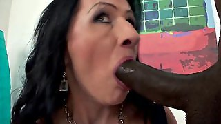 Mature Woman With Big Black Cock Creampie