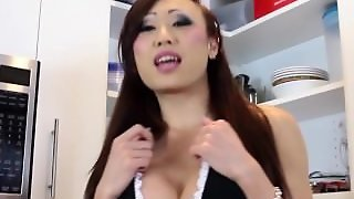 Masturbation, Toys, Solo, Asian Ladyboy, Cum Shot, Shemale, Adult Toys, Uniforms, Porn Star, Maid, Ass Fuck