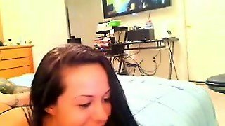 Cam Girl Fucks That Are Thin Together With Her Bf That Is S