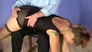 Male Spanks Female - Bondage-Dom.com