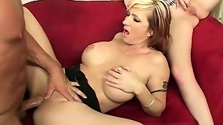 Mandy And Mommy Threesome Ends With Mommy Watching And Masturbating