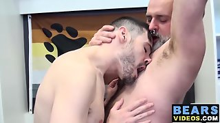 Cumshot, Big Cock, Hairy, Anal, Hardcore, Gay, Bearded, Bearvideos, Blowjob