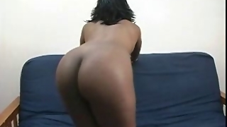 Hot Girl Gets Wet With A Girl Toy Going In And Out Her Wet S
