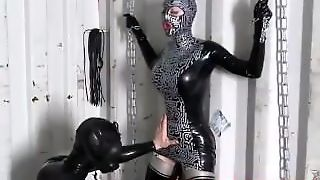 Lucy Latex Bondage And Fuck