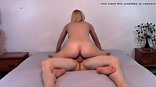 A Blonde Wife Rough Riding