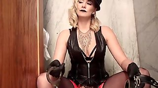 Blonde Bitch Dominatrix Revenge