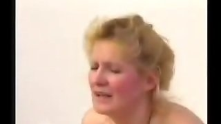 Old Blondie Mature With Hairy Pussy With Junior Guy
