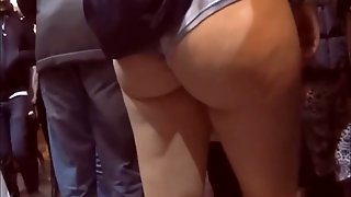 Perfect Ass  Walking In The Street Hd