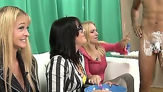 Cfnm Babes Shaving Humiliated Dude